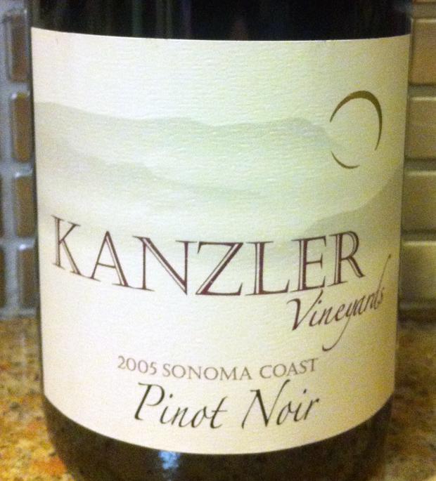 2005 Kanzler Pinot Noir