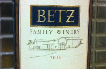 Betz Family Winery 2013 Spring Release