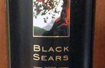 Black Sears 2009 Estate Zinfandel