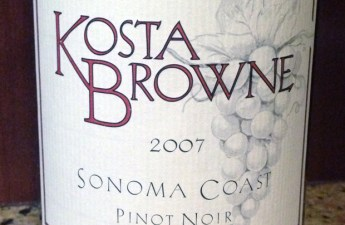 2007 Kosta Brown Sonoma Coast