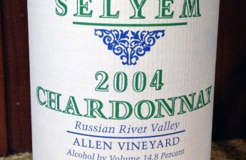 2004 Williams Selyem Chardonnay