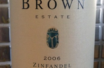 2006 Brown Estate Napa Valley Zinfadel