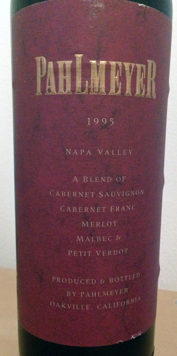 1999 Pahlmeyer Chardonnay