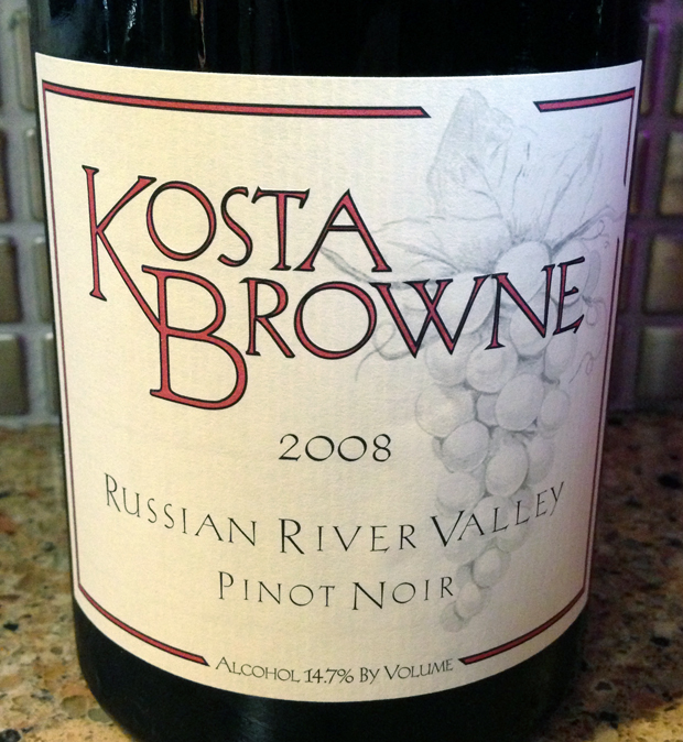 2008 Kosta Browne Russian River Valley Pinot Noir