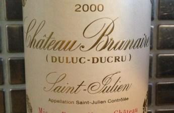 2000 Branaire Ducru