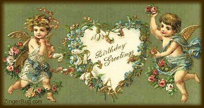 Vintage Birthday Graphics Glitter Graphics Comments GIFs