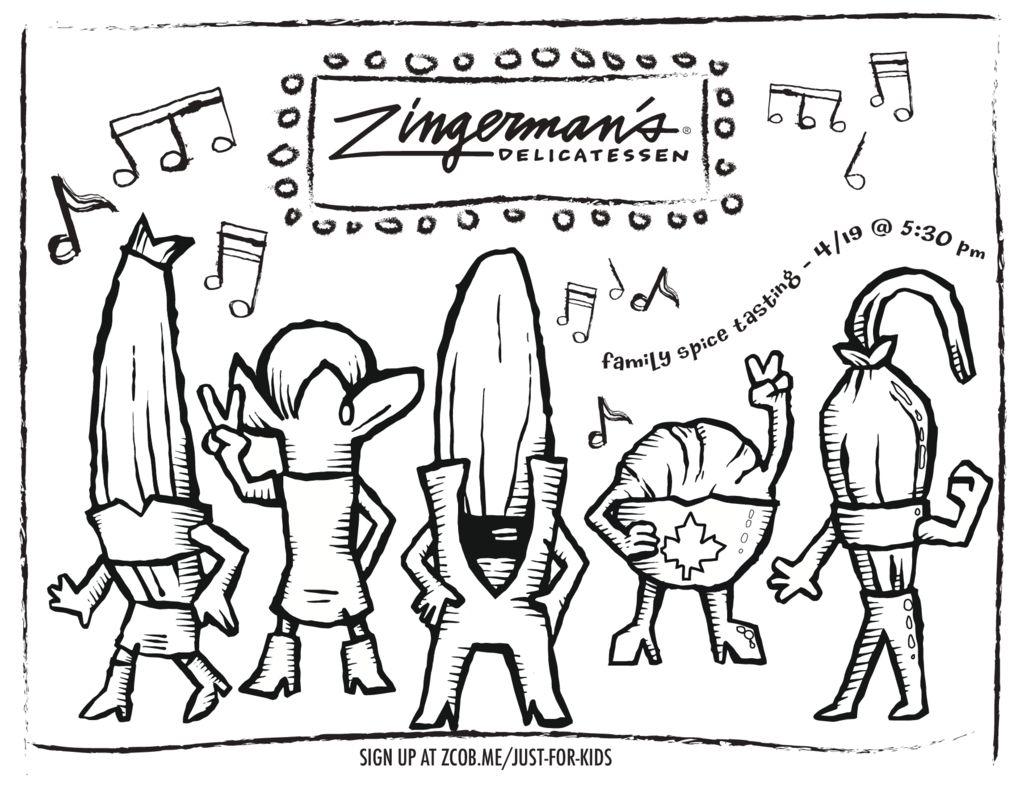 Zingerman S Deli Coloring Pages Archives Zingerman S Deli