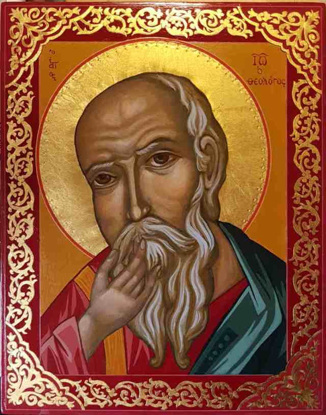 icoon Johannes de Evangelist van het Zwijgen