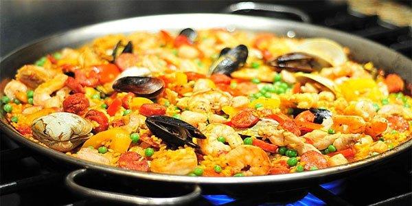 Ispaniska-paelja Ypatingas receptas - Ispaniška paelja