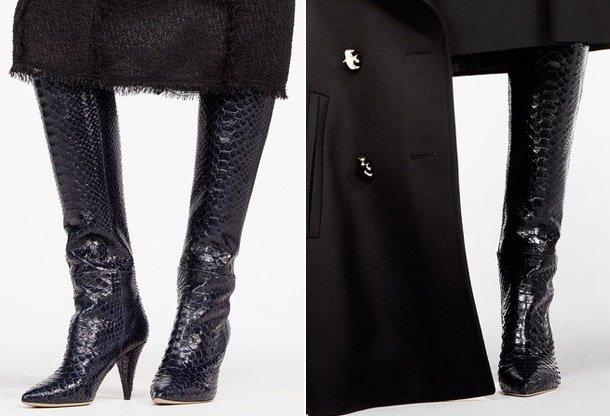 Fashionable-Shoes-2017-snakeskin Madingos moteriškos avalynės tendencijos 2017
