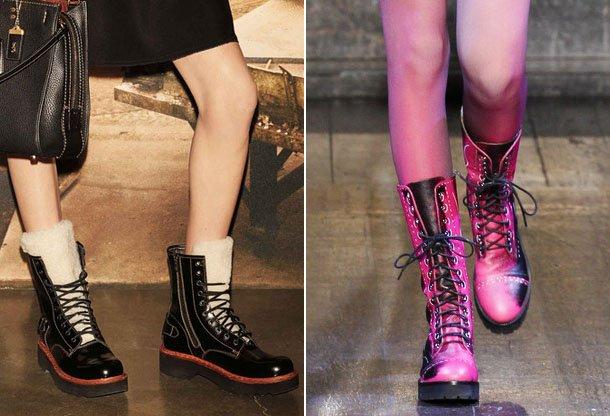 Fashionable-Shoes-With-Lacing-2017 Madingos moteriškos avalynės tendencijos 2017