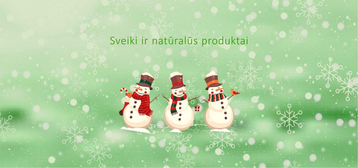Sveiki ir natūralūs produktai