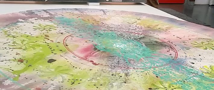 Dustin Schenk – Graffiti-Künstler aus Kassel zu Besuch bei Zinke