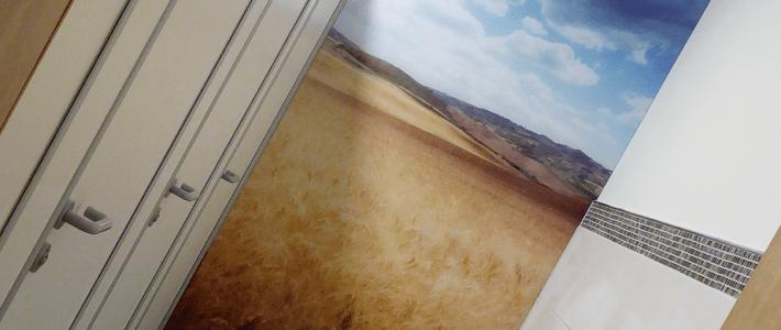 Wände aus Glas