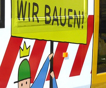 Plakativ informieren