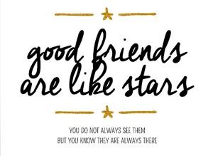 Vriendschapskaart