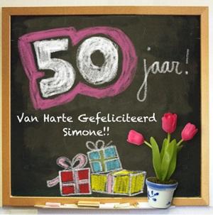 Gefeliciteerd 50 jaar