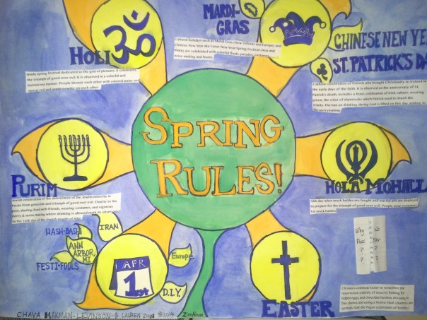photo of poster called Spring Rules!