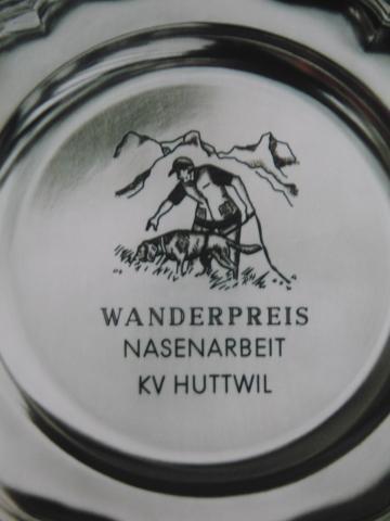 Wanderpreis Nasenarbeit Huttwil