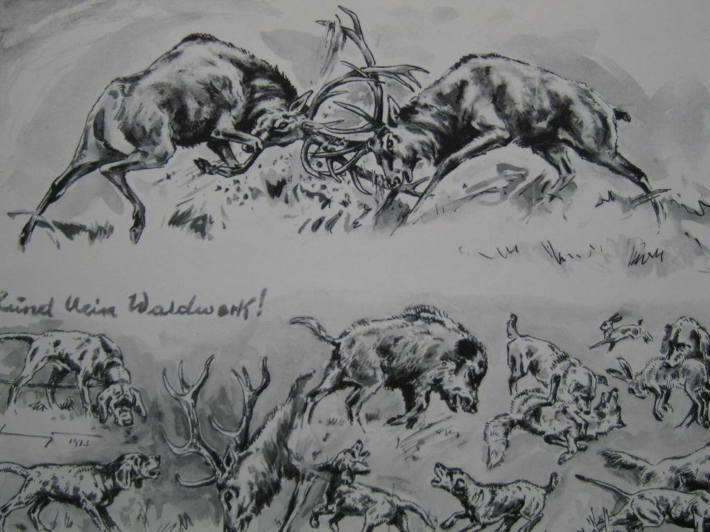 Originalzeichnung von H. Liederley