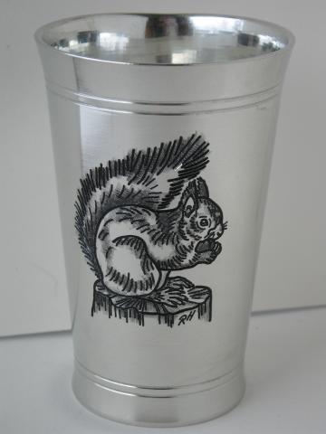 Eichhörnchen am Zvieri