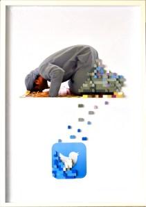 New Faiths, stampa digitale e lego, 70x50cm - vincitore premio Cuprarte