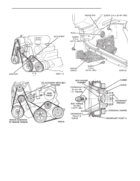 Chrysler Town And Country Belt Diagram
