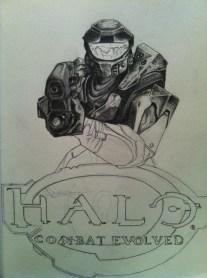 Halo Sketch Step 5