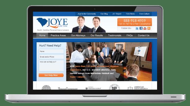 Joye Law Nashville SEO