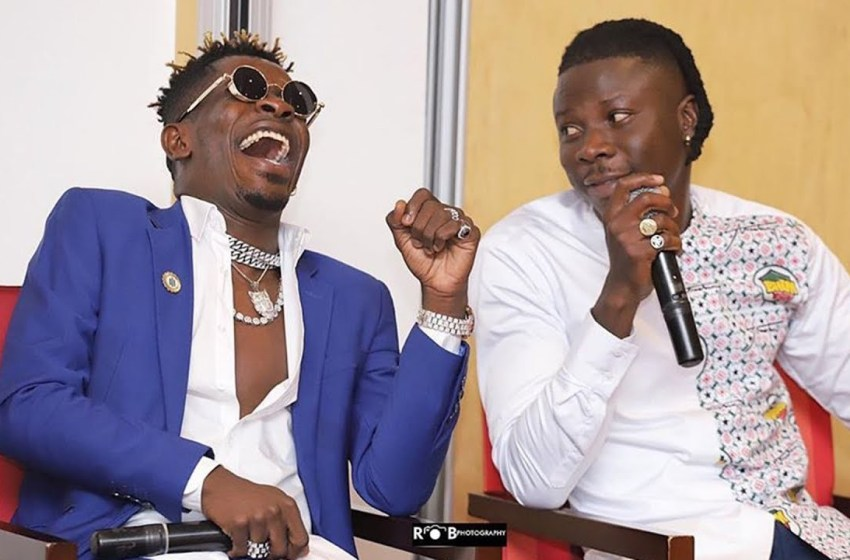 Just In: Shatta Wale Crowned Winner Of Asaase Sound Clash; Drives Away Brand New Car (Watch Video)