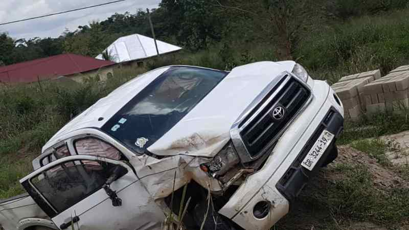 Breaking News: Gospel Musician Yaw Sarpong Involved In Serious Accident – See Photos 2