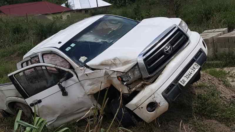 Yaw Sarpong Involves In An Accident