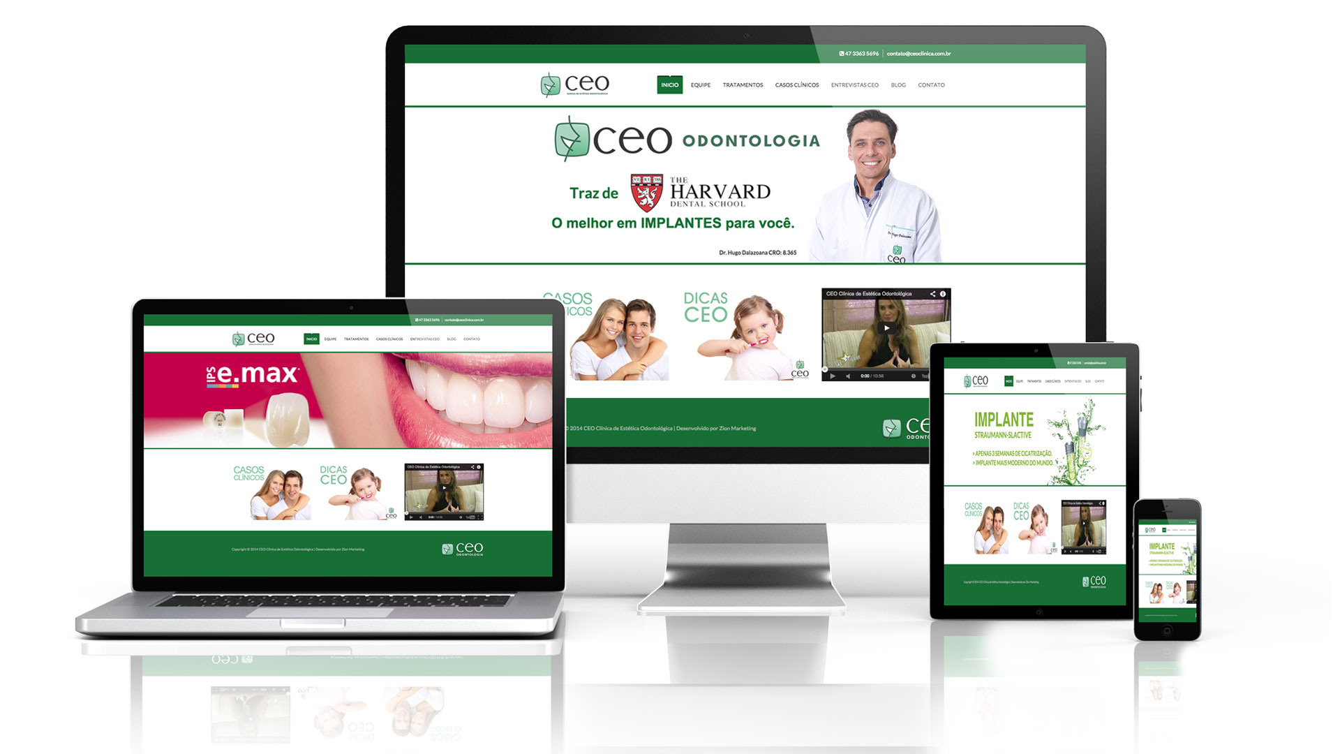 CEO Clínica – Website