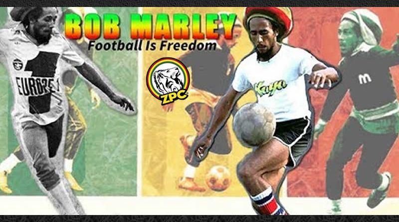 bob marley y el fútbol