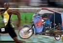 Usain Bolt llega hoy a Lima y correrá contra una mototaxi