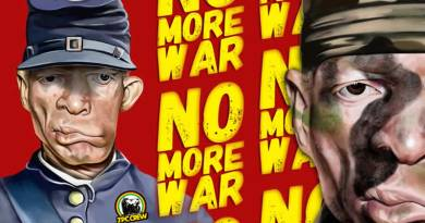 Yellowman regresa con : No More War