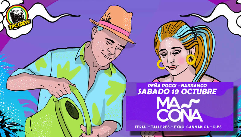 MACOÑA EXPO CANNABIS 2019 - 19 DE OCTUBRE