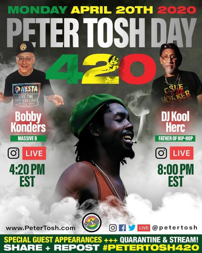 Peter Tosh day - 2020