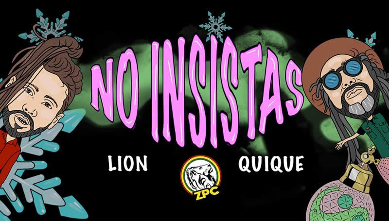 LION REGGAE - NO INSISTAS
