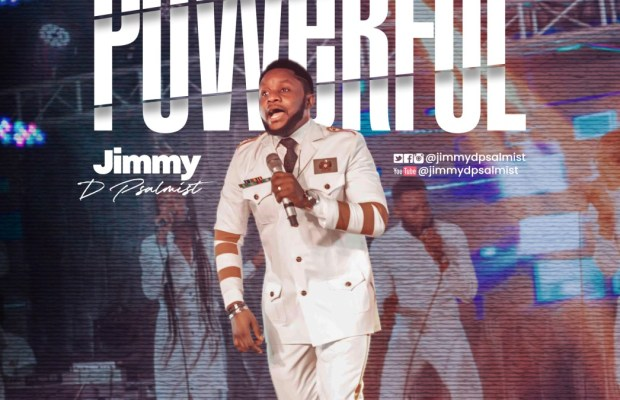 Jimmy D psalmist - powerful (audio & video)