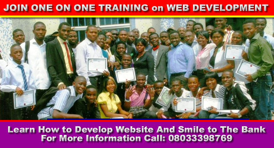 Free Web Design Training in Surulere