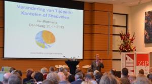 Prof Jan Rotmans over Kantelen of Sneuvelen
