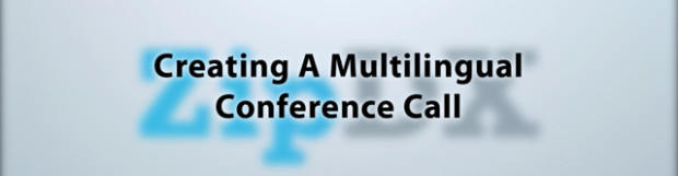 Video How-To: Creating a Simple Multilingual Conference