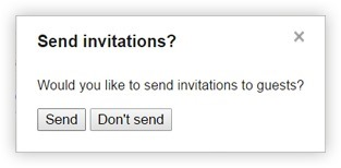Google Calendar Send Invitations
