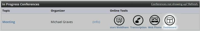 IPC-Dashboard icon highlighted