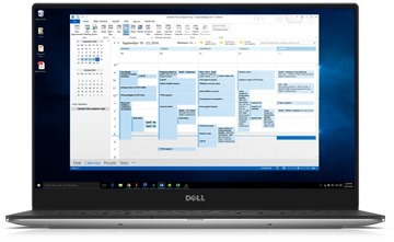 Outlook-Calendar-in-laptop
