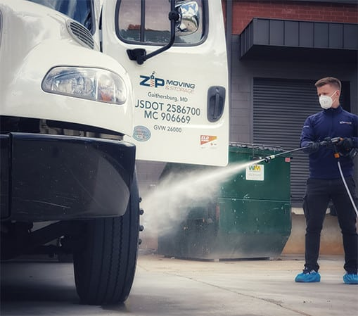 zipmoving truck health and safety
