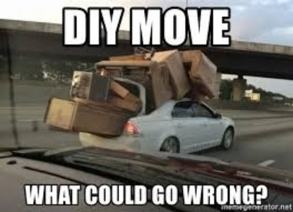 Diy move what could go wrong