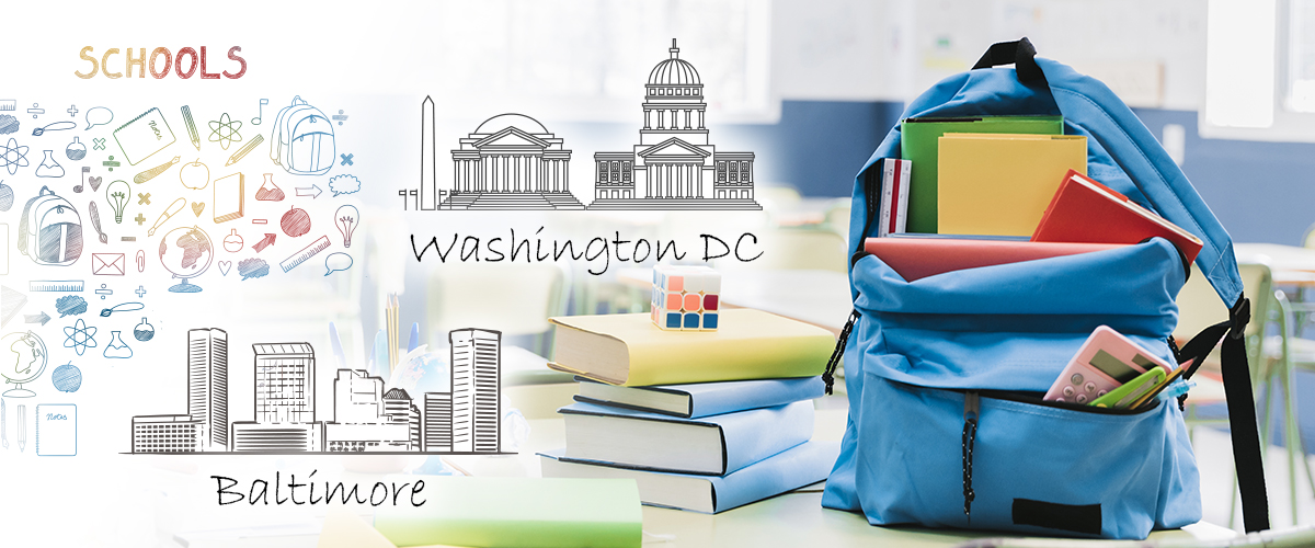 Moving to Washington dc - Baltimore ( choose by schools )