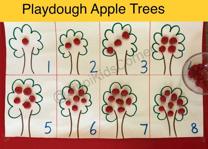 Learn counting While playing for toddlers